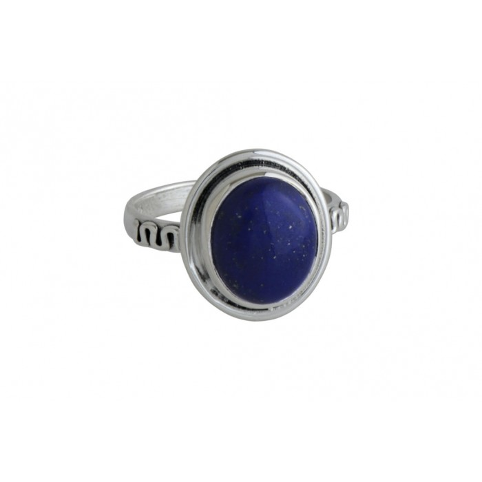 Bague argent pierre lapis lazuli
